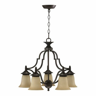Coventry 5-Light Shaded Chandelier