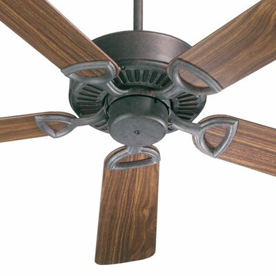 52 Estate 5-Blade Ceiling Fan Finish: Toasted Sienna with Rosewood/Walnut Blades