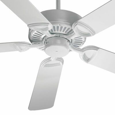 52 Estate 5-Blade Ceiling Fan Finish: White