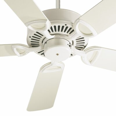 52 Estate 5-Blade Ceiling Fan Finish: Antique White