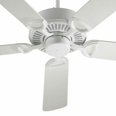 52 Estate 5-Blade Ceiling Fan Finish: Studio White