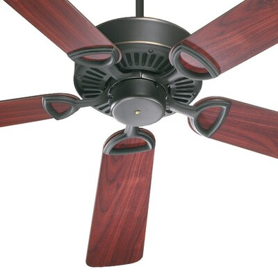52 Estate 5-Blade Ceiling Fan Finish: Old World with Rosewood / Walnut Blades