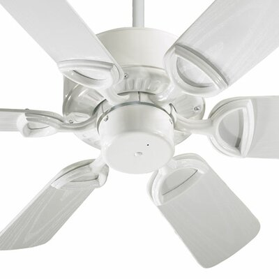 30 Estate 6-Blade Patio Ceiling Fan Finish: White with White Blades