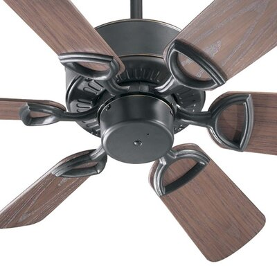 30 Estate 6-Blade Patio Ceiling Fan Finish: Old World with Walnut Blades