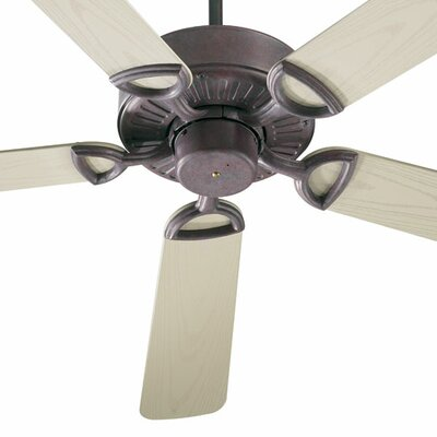 52 Estate Patio 5 Blade Ceiling Fan - Energy Star Finish: Cobblestone with Weathered Pine Blades