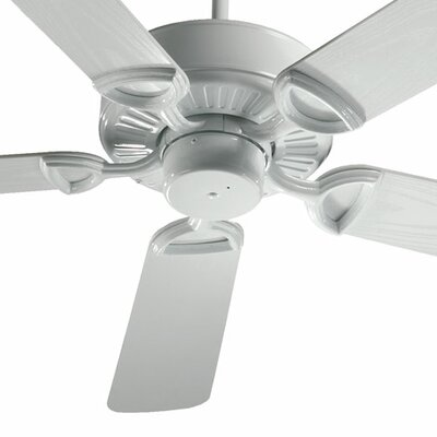 52 Estate Patio 5 Blade Ceiling Fan - Energy Star Finish: White with White Blades