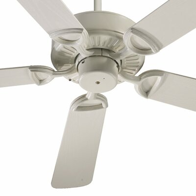 52 Estate Patio 5 Blade Ceiling Fan - Energy Star Finish: Antique White with Antique White Blades
