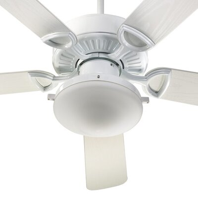 52 Estate 5-Blade Patio Ceiling Fan Finish: White
