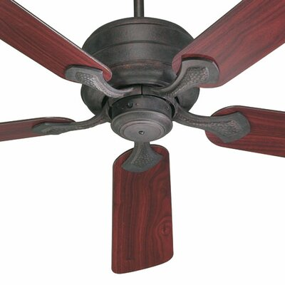 52 Hanover 5-Blade Ceiling Fan Finish: Toasted Sienna