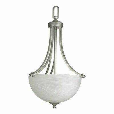 Hemisphere 3-Light Bowl Inverted Pendant