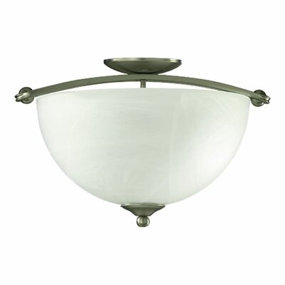 Hemisphere Semi Flush Mount