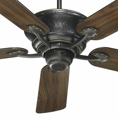 52 Liberty 5-Blade Ceiling Fan Finish: Old World with Old World/Walnut Blades