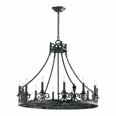 Lorenco 12-Light Candle-Style Chandelier