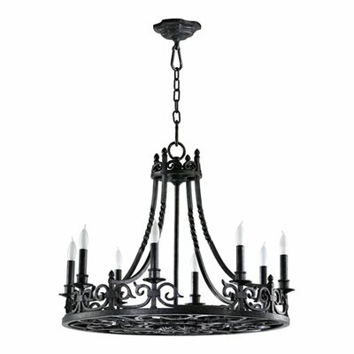 Lorenco 8-Light Candle-Style Chandelier