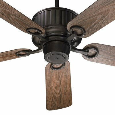 52 Portside 5-Blade Patio Ceiling Fan Finish: Oiled Bronze