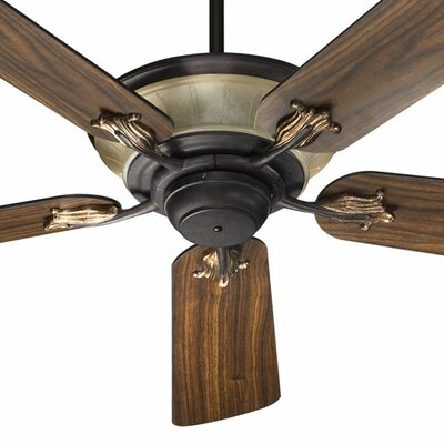 52 Roderick 5-Blade Ceiling Fan Finish: Toasted Sienna with Toasted Sienna/Walnut Blades