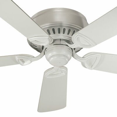 42 Medallion 5-Blade Ceiling Fan Finish: Studio White with Studio White Blades