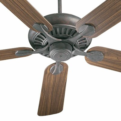 52 Pinnacle 5-Blade Ceiling Fan Finish: Toasted Sienna with Rosewood/Walnut Blades