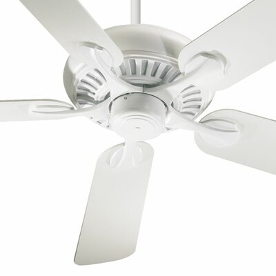 52 Pinnacle 5-Blade Ceiling Fan Finish: Studio White with Studio White Blades