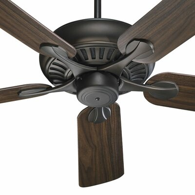 52 Pinnacle 5-Blade Ceiling Fan Finish: Oiled Bronze with Medium Oak Blades