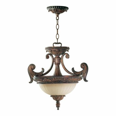 Mcfarlin 2-Light Convertible Inverted Pendant
