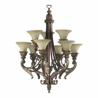 Madeleine 9-Light Shaded Chandelier
