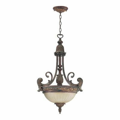 Mcfarlin 3-Light Inverted Pendant