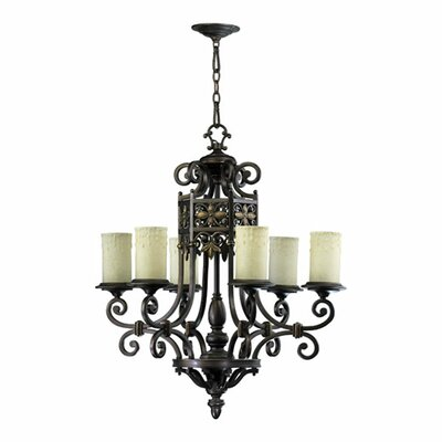 Marcela 6-Light Shaded Chandelier