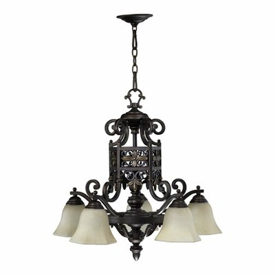 Marcela 5-Light Shaded Chandelier