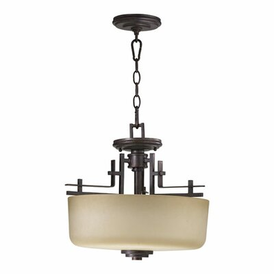 Prairie 2-Light Convertible Inverted Pendant