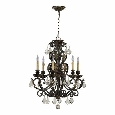 Ancram 6-Light Candle-Style Chandelier