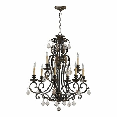 Ancram 9-Light Candle-Style Chandelier
