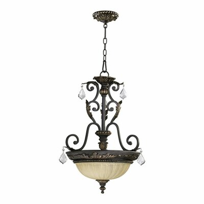 Ancram 3-Light Inverted Pendant