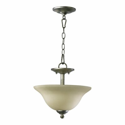 Spencer 2-Light Convertible Inverted Pendant Finish: Classic Nickel
