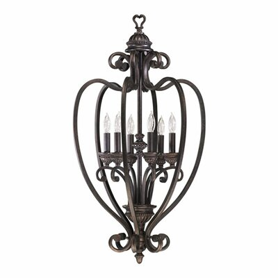 Summerset 6-Light Foyer Pendant Finish: Toasted Sienna