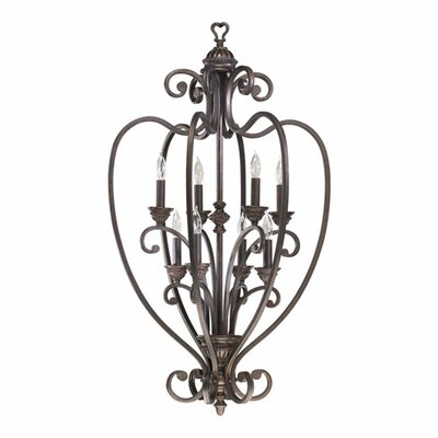 Summerset 8-Light Foyer Pendant Finish: Toasted Sienna