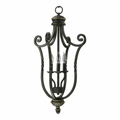Tribeca Foyer Pendant Size: Small, Finish: Old World