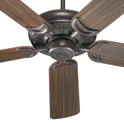 52 Venture 5-Blade Ceiling Fan Finish: Toasted Sienna with Rosewood / Walnut Blades