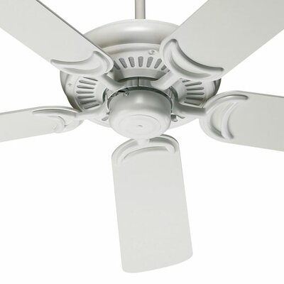 52 Enyeart 5-Blade Ceiling Fan Finish: Studio White with Studio White / Maple Blades