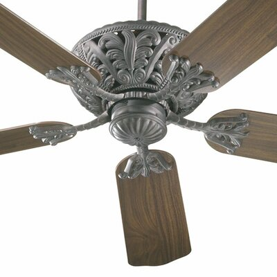 52 Mcferren 5-Blade Ceiling Fan Finish: Toasted Sienna with Rosewood / Walnut Blades