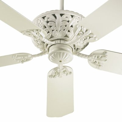 52 Mcferren 5-Blade Ceiling Fan Finish: Antique White with Antique White Blades