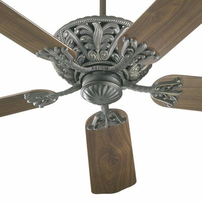 52 Mcferren 5-Blade Ceiling Fan Finish: Old World with Rosewood / Walnut Blades