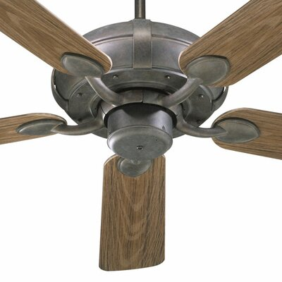 52 Adirondacks 5-Blade Patio Ceiling Fan Finish: Toasted Sienna with Walnut Blades