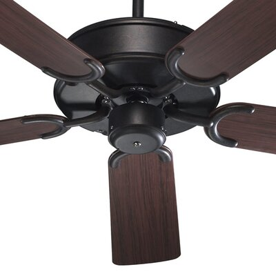 52 All-Weather Allure 5-Blade Patio Ceiling Fan Finish: Toasted Sienna with Rosewood Blades