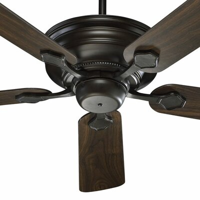 52 Barclay 5-Blade Ceiling Fan Finish: Oiled Bronze with Teak / Walnut Blades