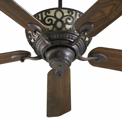 52 Cimarron 5-Blade Ceiling Fan Finish: Toasted Sienna with Toasted Sienna/Walnut Blades