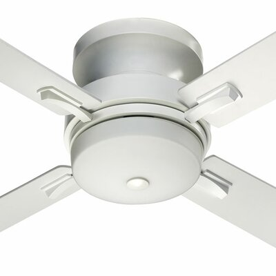 52 Davenport 4-Blade Ceiling Fan Finish: Studio White with Studio White Blades
