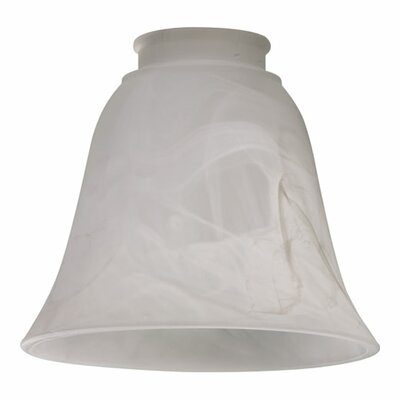 Faux Alabaster 5.5Glass Bell Pendant Shade