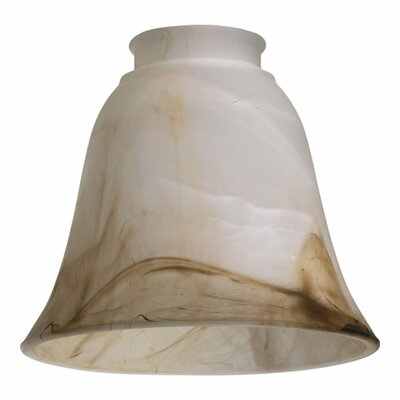 Faux Alabaster 5.5 Glass Bell Pendant Shade