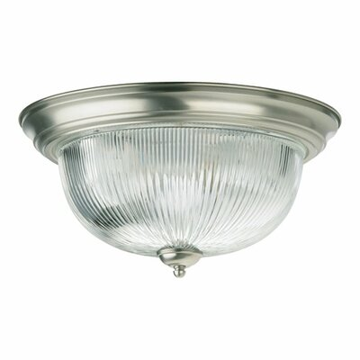 Flush Mount Size: 7 H x 15 W